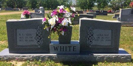 WHITE, D E - Bowie County, Texas | D E WHITE - Texas Gravestone Photos