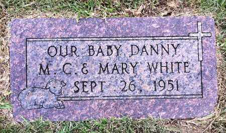 WHITE, DANNY - Bowie County, Texas | DANNY WHITE - Texas Gravestone Photos
