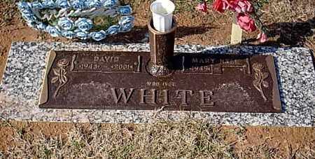 WHITE, DAVID - Bowie County, Texas | DAVID WHITE - Texas Gravestone Photos