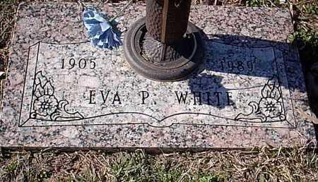 WHITE, EVA P - Bowie County, Texas | EVA P WHITE - Texas Gravestone Photos