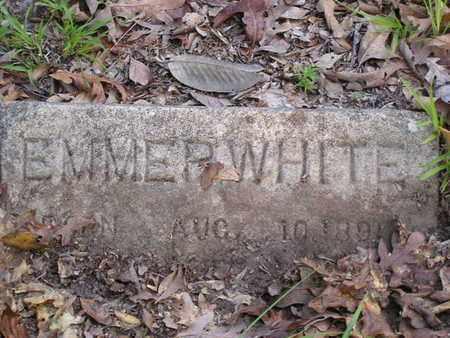 WHITE, EMMER - Bowie County, Texas | EMMER WHITE - Texas Gravestone Photos