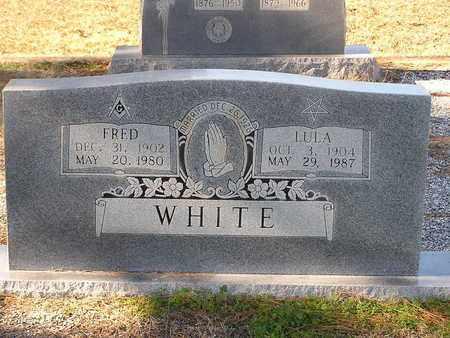 WHITE, LULA - Bowie County, Texas | LULA WHITE - Texas Gravestone Photos