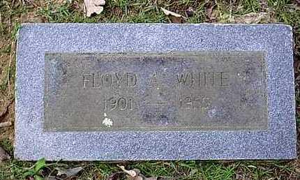 WHITE, FLOYD - Bowie County, Texas | FLOYD WHITE - Texas Gravestone Photos