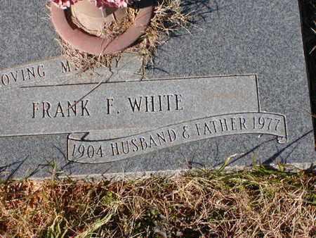 WHITE, FRANK F - Bowie County, Texas | FRANK F WHITE - Texas Gravestone Photos