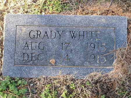 WHITE, GRADY - Bowie County, Texas | GRADY WHITE - Texas Gravestone Photos