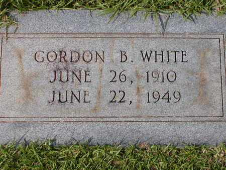 WHITE, GORDON B - Bowie County, Texas | GORDON B WHITE - Texas Gravestone Photos