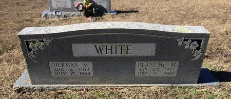 WHITE, BLANCHE M. - Bowie County, Texas | BLANCHE M. WHITE - Texas Gravestone Photos
