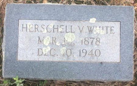 WHITE, HERSCHELL V - Bowie County, Texas | HERSCHELL V WHITE - Texas Gravestone Photos