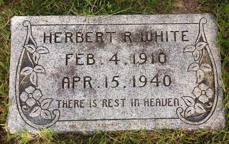 WHITE, HERBERT R - Bowie County, Texas | HERBERT R WHITE - Texas Gravestone Photos