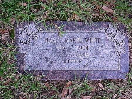 WHITE, HAZEL MARIE - Bowie County, Texas | HAZEL MARIE WHITE - Texas Gravestone Photos