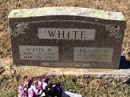 WHITE, JUSTIN M. - Bowie County, Texas | JUSTIN M. WHITE - Texas Gravestone Photos