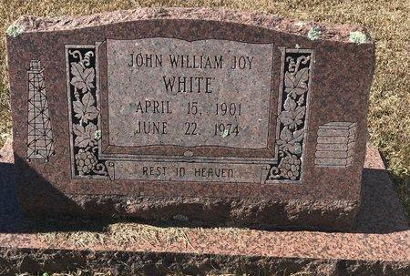WHITE, JOHN WILLIAM JOY - Bowie County, Texas | JOHN WILLIAM JOY WHITE - Texas Gravestone Photos