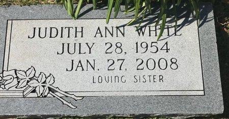 WHITE, JUDITH ANN - Bowie County, Texas   JUDITH ANN WHITE - Texas Gravestone Photos