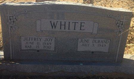 WHITE, JEFFREY JOY - Bowie County, Texas   JEFFREY JOY WHITE - Texas Gravestone Photos