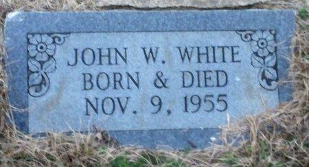 WHITE, JOHN W. - Bowie County, Texas   JOHN W. WHITE - Texas Gravestone Photos