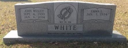 WHITE, JOHN WESLEY - Bowie County, Texas | JOHN WESLEY WHITE - Texas Gravestone Photos