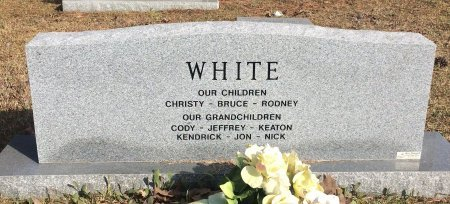 WHITE, JOHN WESLEY (BACKVIEW) - Bowie County, Texas | JOHN WESLEY (BACKVIEW) WHITE - Texas Gravestone Photos