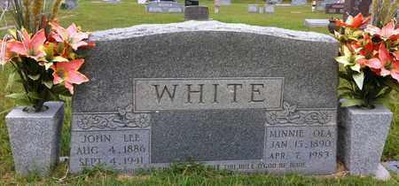 WHITE, MINNIE OLA - Bowie County, Texas | MINNIE OLA WHITE - Texas Gravestone Photos