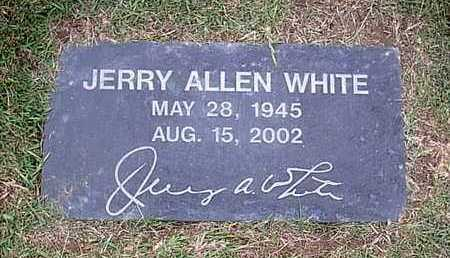 WHITE, JERRY ALLEN - Bowie County, Texas | JERRY ALLEN WHITE - Texas Gravestone Photos