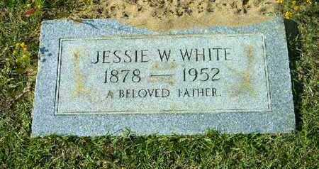 WHITE, JESSIE W - Bowie County, Texas | JESSIE W WHITE - Texas Gravestone Photos
