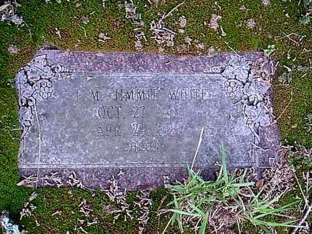 "WHITE, J M ""JIMMIE"" - Bowie County, Texas | J M ""JIMMIE"" WHITE - Texas Gravestone Photos"
