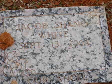 WHITE, JACOB SHANO - Bowie County, Texas | JACOB SHANO WHITE - Texas Gravestone Photos