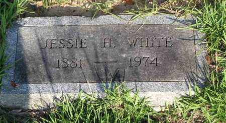 WHITE, JESSIE H - Bowie County, Texas | JESSIE H WHITE - Texas Gravestone Photos