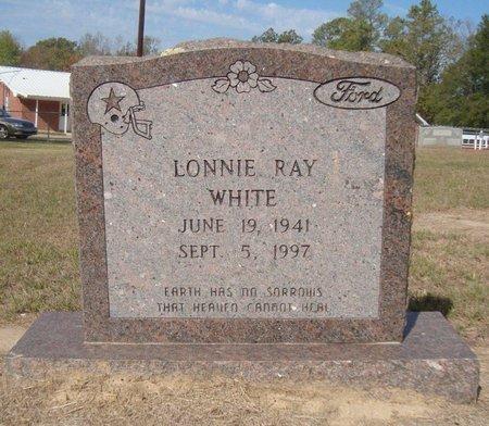 WHITE, LONNIE RAY - Bowie County, Texas | LONNIE RAY WHITE - Texas Gravestone Photos