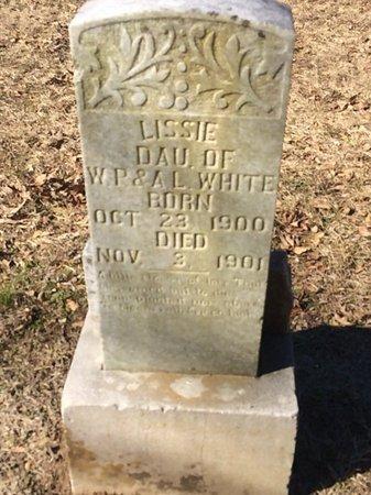 WHITE, LISSIE - Bowie County, Texas   LISSIE WHITE - Texas Gravestone Photos