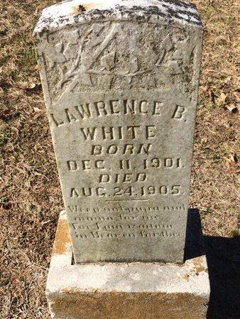 WHITE, LAWRENCE B. - Bowie County, Texas | LAWRENCE B. WHITE - Texas Gravestone Photos