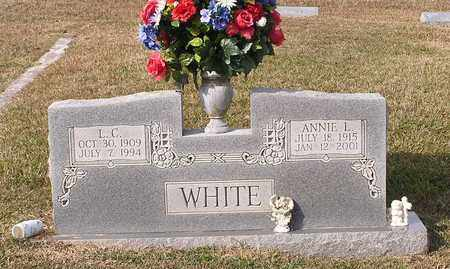 WHITE, L C - Bowie County, Texas | L C WHITE - Texas Gravestone Photos