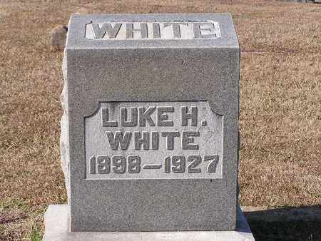 WHITE, LUKE H - Bowie County, Texas | LUKE H WHITE - Texas Gravestone Photos