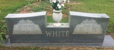 WHITE, LEO LEFTRAGE - Bowie County, Texas | LEO LEFTRAGE WHITE - Texas Gravestone Photos