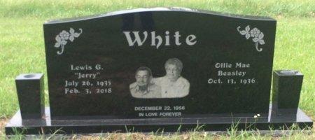 WHITE, LEWIS G  - Bowie County, Texas | LEWIS G  WHITE - Texas Gravestone Photos