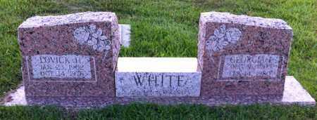 WHITE, LOVICK H - Bowie County, Texas | LOVICK H WHITE - Texas Gravestone Photos