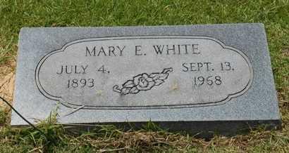 WHITE, MARY E. - Bowie County, Texas | MARY E. WHITE - Texas Gravestone Photos