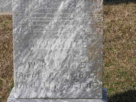 WHITE, M J (CLOSEUP) - Bowie County, Texas | M J (CLOSEUP) WHITE - Texas Gravestone Photos