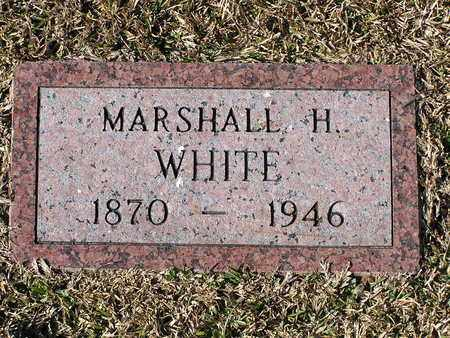 WHITE, MARSHALL H - Bowie County, Texas   MARSHALL H WHITE - Texas Gravestone Photos