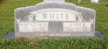 WHITE, LUTHER W - Bowie County, Texas | LUTHER W WHITE - Texas Gravestone Photos