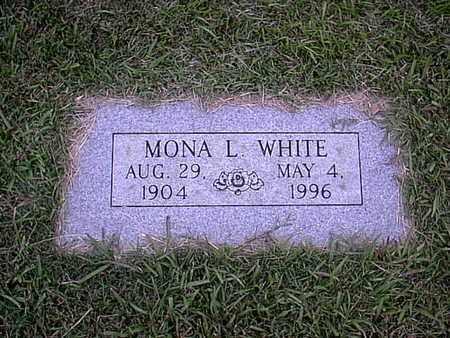 WHITE, MONA L - Bowie County, Texas   MONA L WHITE - Texas Gravestone Photos