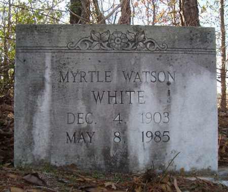 WHITE, MYRTLE - Bowie County, Texas | MYRTLE WHITE - Texas Gravestone Photos