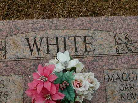 MARTIN WHITE, MAGGIE - Bowie County, Texas | MAGGIE MARTIN WHITE - Texas Gravestone Photos