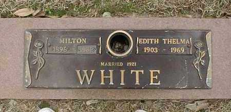 WHITE, EDITH THELMA - Bowie County, Texas | EDITH THELMA WHITE - Texas Gravestone Photos