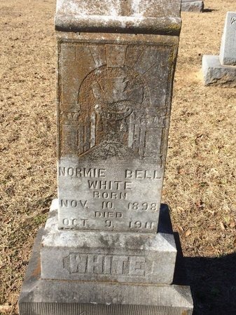WHITE, NORMIE BELL - Bowie County, Texas | NORMIE BELL WHITE - Texas Gravestone Photos