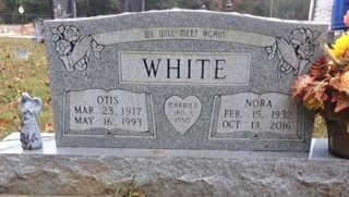 WHITE, NORA - Bowie County, Texas | NORA WHITE - Texas Gravestone Photos