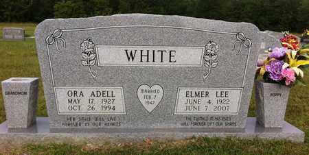 WHITE, ORA ADELL - Bowie County, Texas | ORA ADELL WHITE - Texas Gravestone Photos