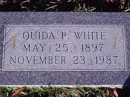 WHITE, OUIDA P - Bowie County, Texas   OUIDA P WHITE - Texas Gravestone Photos