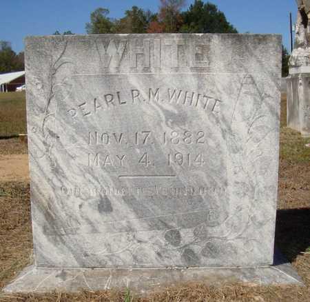 WHITE, PEARL R. M. - Bowie County, Texas | PEARL R. M. WHITE - Texas Gravestone Photos