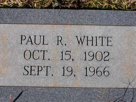 WHITE, PAUL R - Bowie County, Texas | PAUL R WHITE - Texas Gravestone Photos