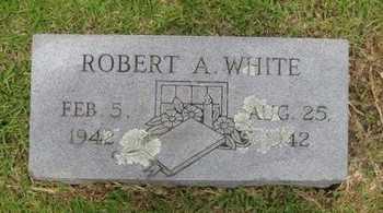 WHITE, ROBERT A. - Bowie County, Texas | ROBERT A. WHITE - Texas Gravestone Photos